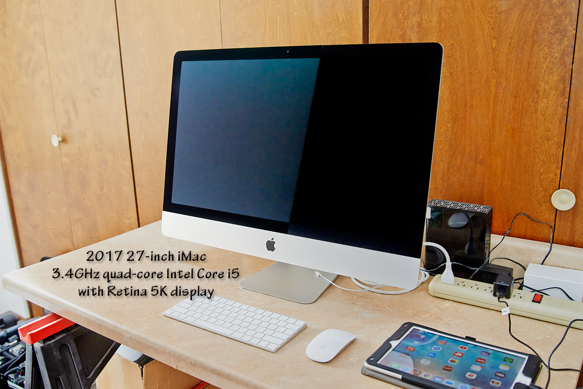 2017 refurbished iMac purchased and delivered
